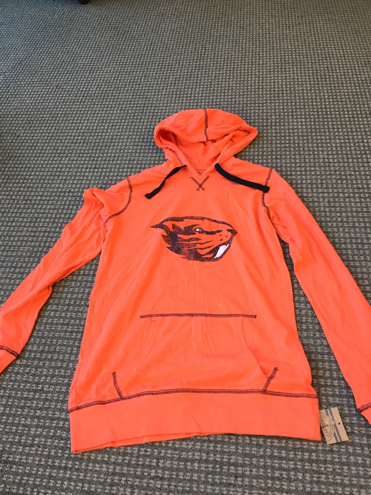 Oregon State Hoodie Lightweight Size Large