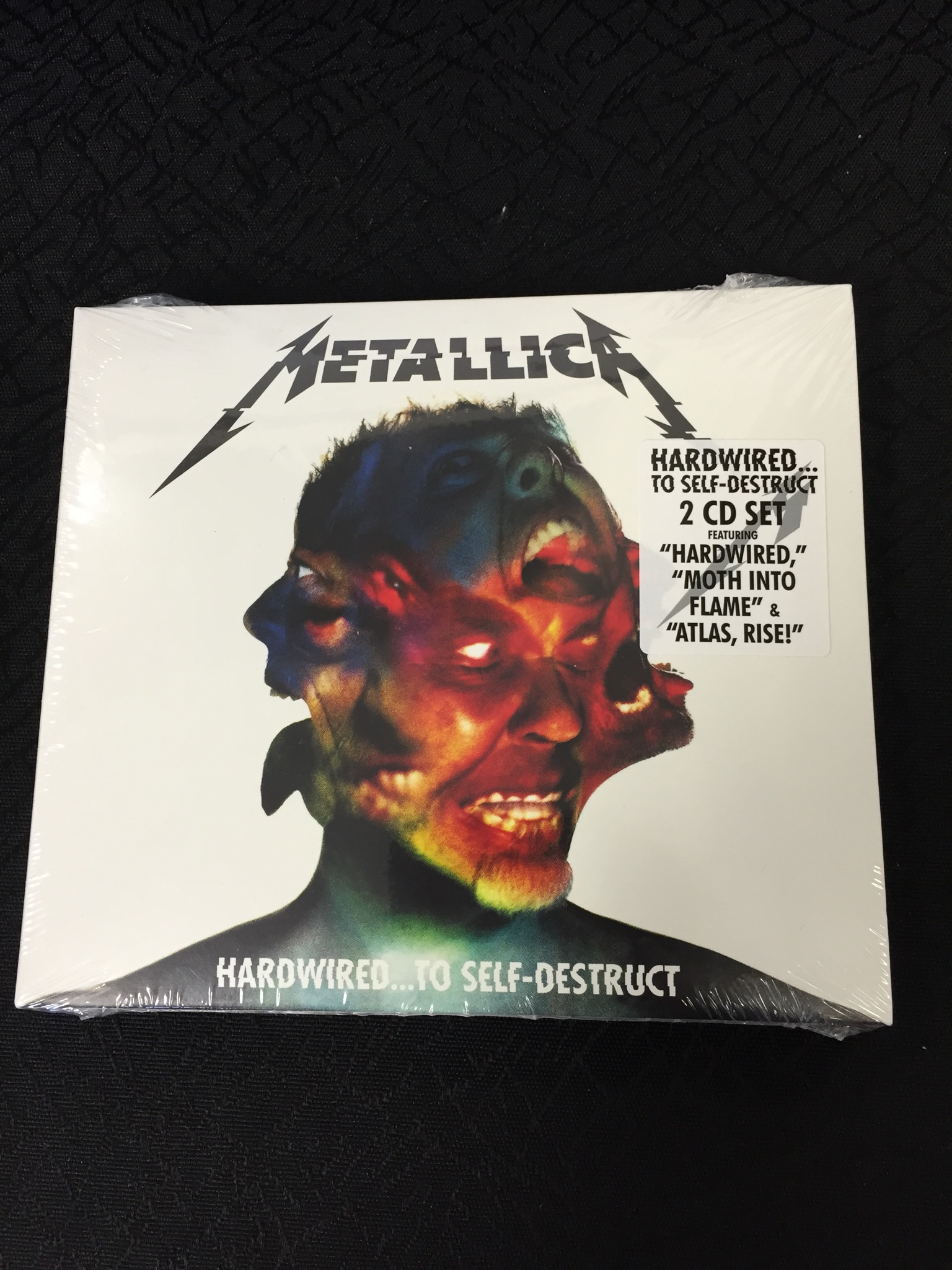 Metallica 2 set CD Hardwired to Self Destruct