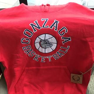 Gonzaga Basketball Sweatshirt size Medium