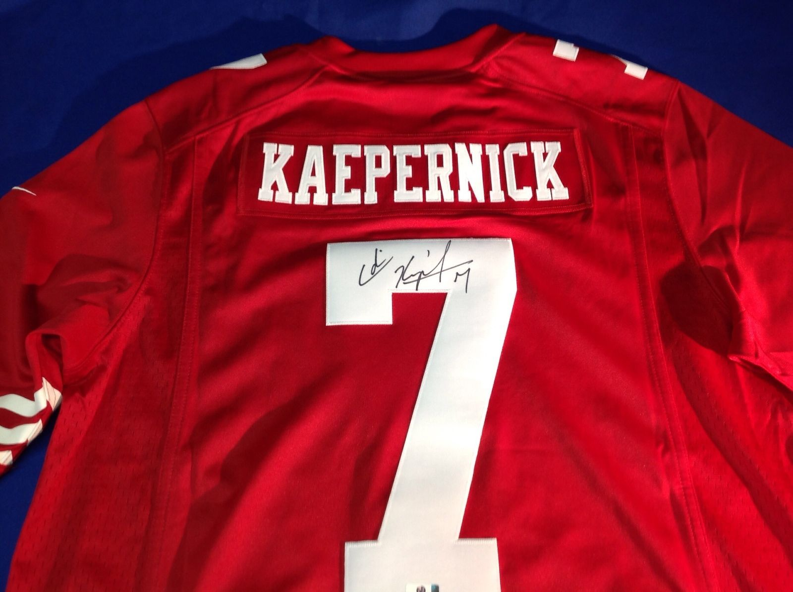 Colin Kaepernick 49ers Hand-Signed Jersey