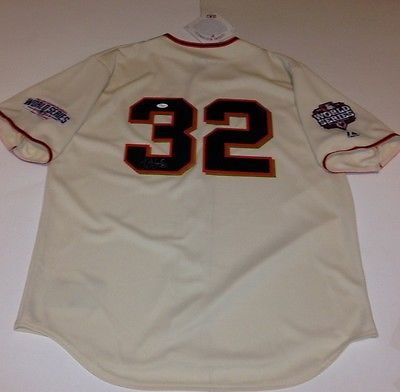 Ryan Vogelsong Giants Hand-Signed Jersey