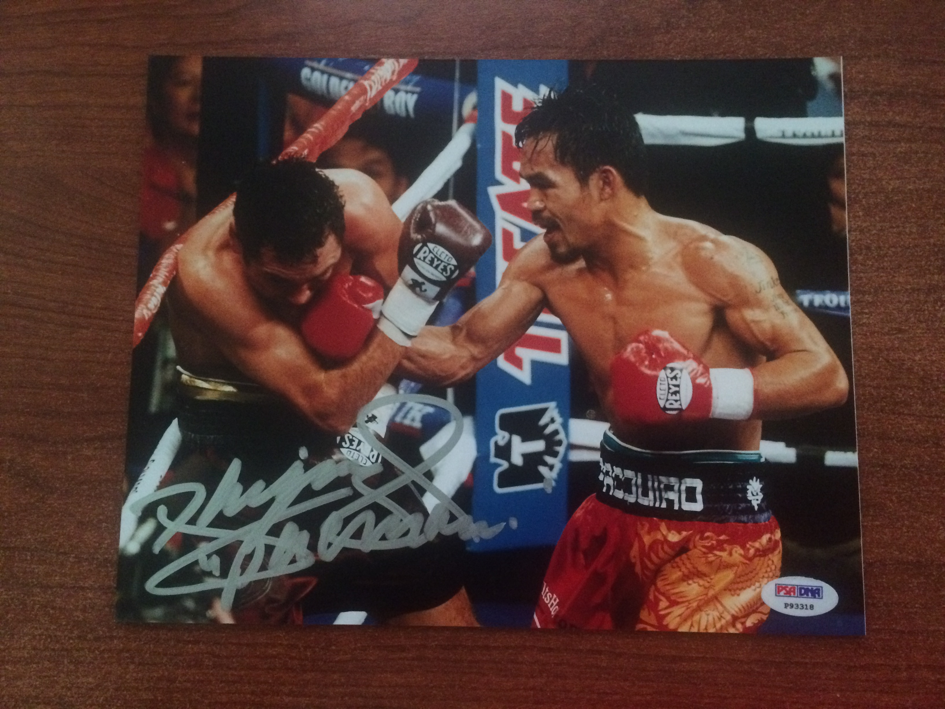 Manny Pacquiao Hand-signed 8x10 Photo