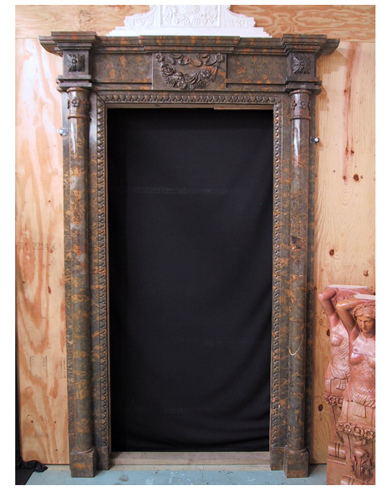 Grapevine Carved Marble Door Surrounds