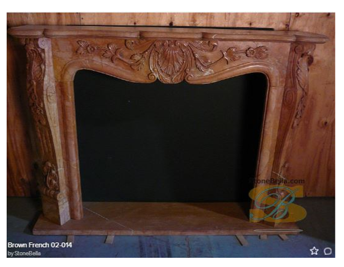 Mable Fireplace Mantel
