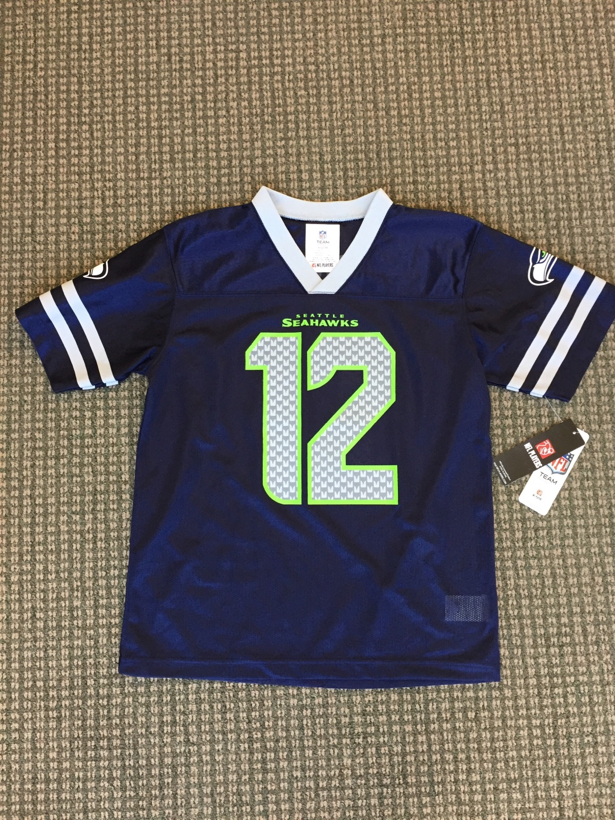 Seahawks Size 12 Month Jersey