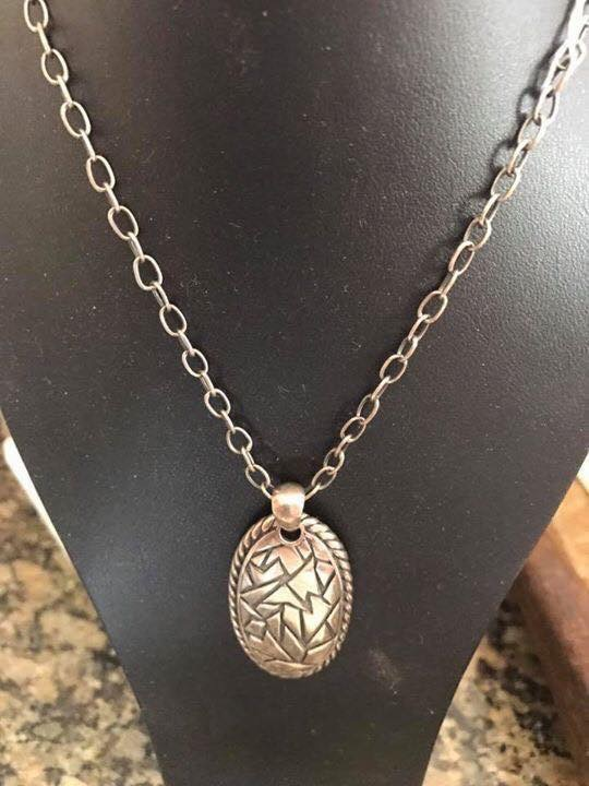 Sterling Silver Designer Pendant with chain