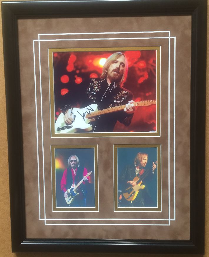 Tom Petty Commemorative w-Reproduced Signature