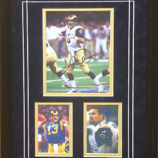 Kurt Warner St. Louis Rams NFL Commemorative