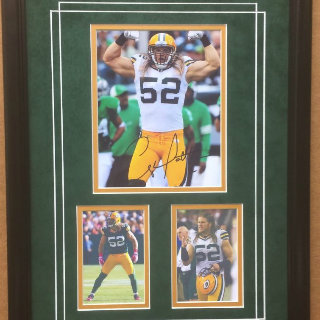 Clay Matthews Green Bay Packers Commemorative