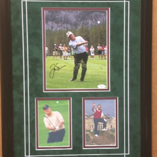 Jack Nicklaus Professional Golfer Hand-Signed Commemorative