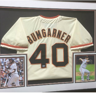 Madison Bumgardner San Francisco Giants Hand-Signed Jersey w-Authentication