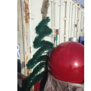 Christmas Tree Pole Decor For Sale