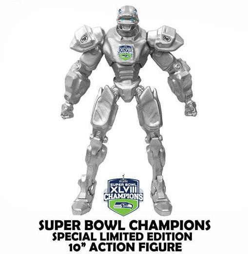 Seattle Seahawks Super Bowl FOX Cleatus