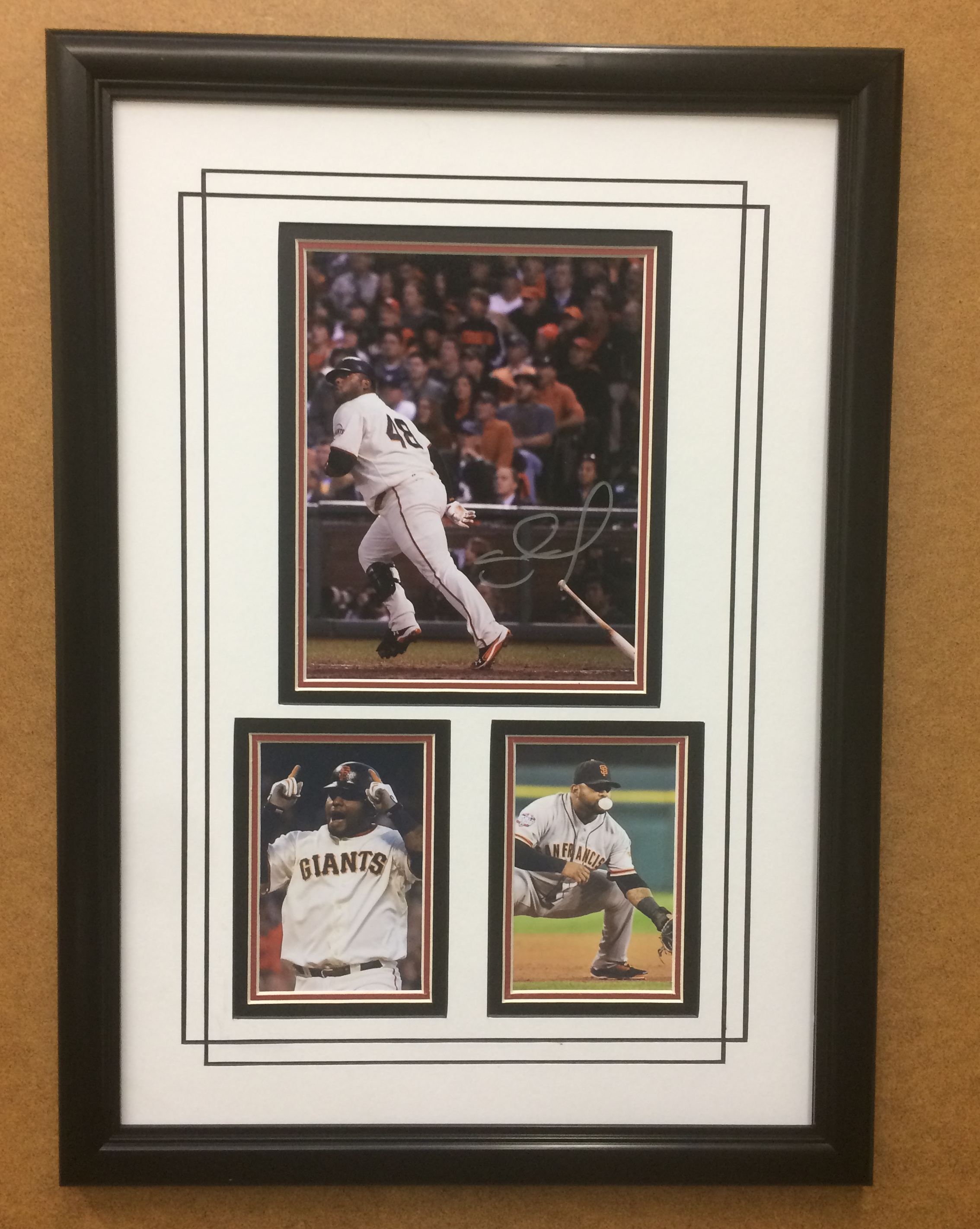 Pablo Sandoval S.F. Giants Hand-Signed 8x10 Commemorative