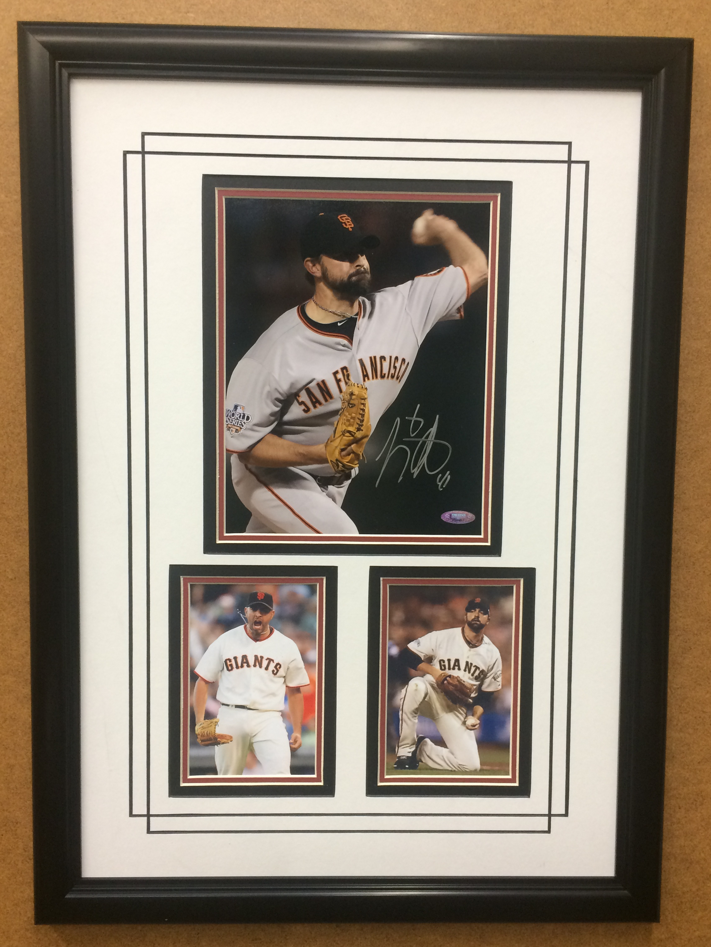 Jeremy Affeldt S.F. Giants Hand-Signed 8x10 Commemorative
