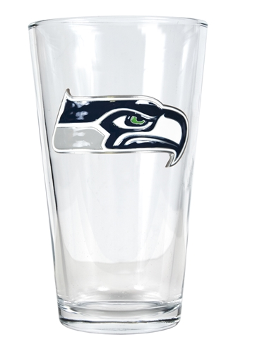 Seahawks 16oz Pint Glass