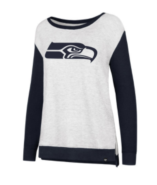 Seahawks Jersey Sweater Large