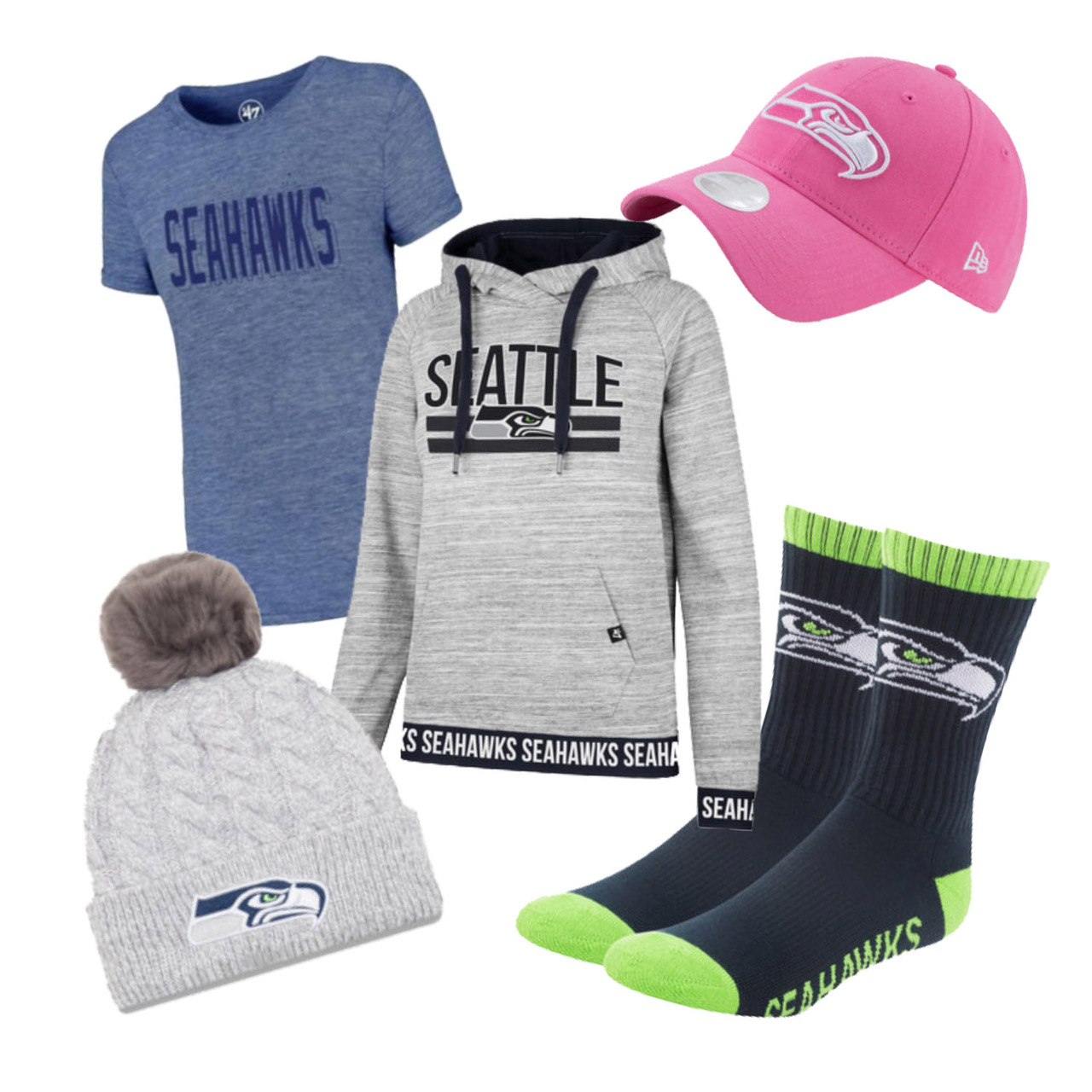 Seahawks Ultimate Fan Bundle for Women-Large
