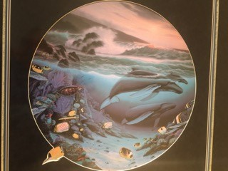 Whale Waters- Robert Wyland & Ron Tabora Signed and Numbered Lithograph