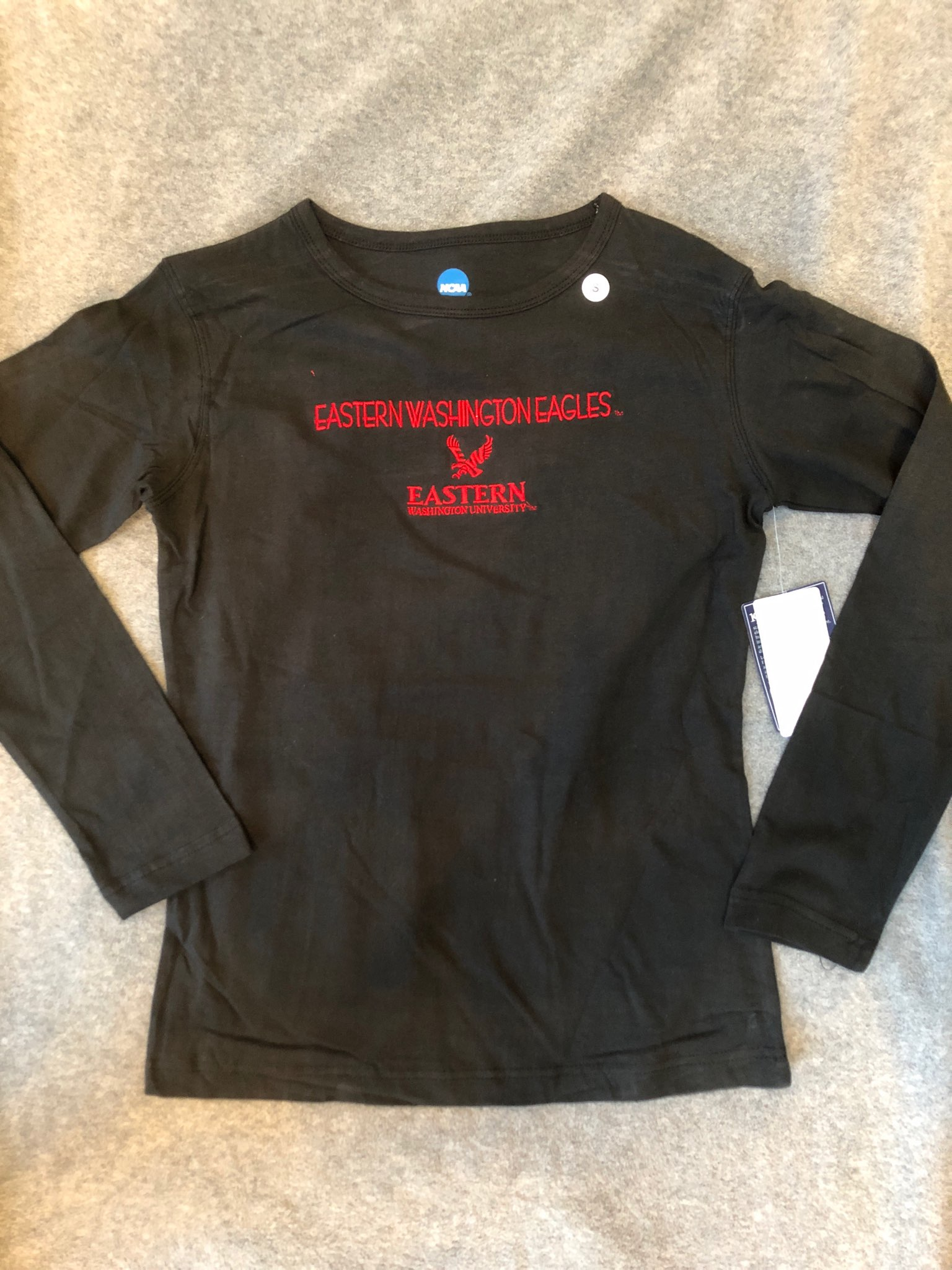 New With Tag - Eastern Washington University Long Sleeve Tee Size