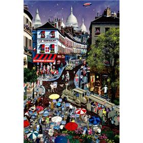 "Alexander Chen ""A Day At Montmartre "" Limited Edition"