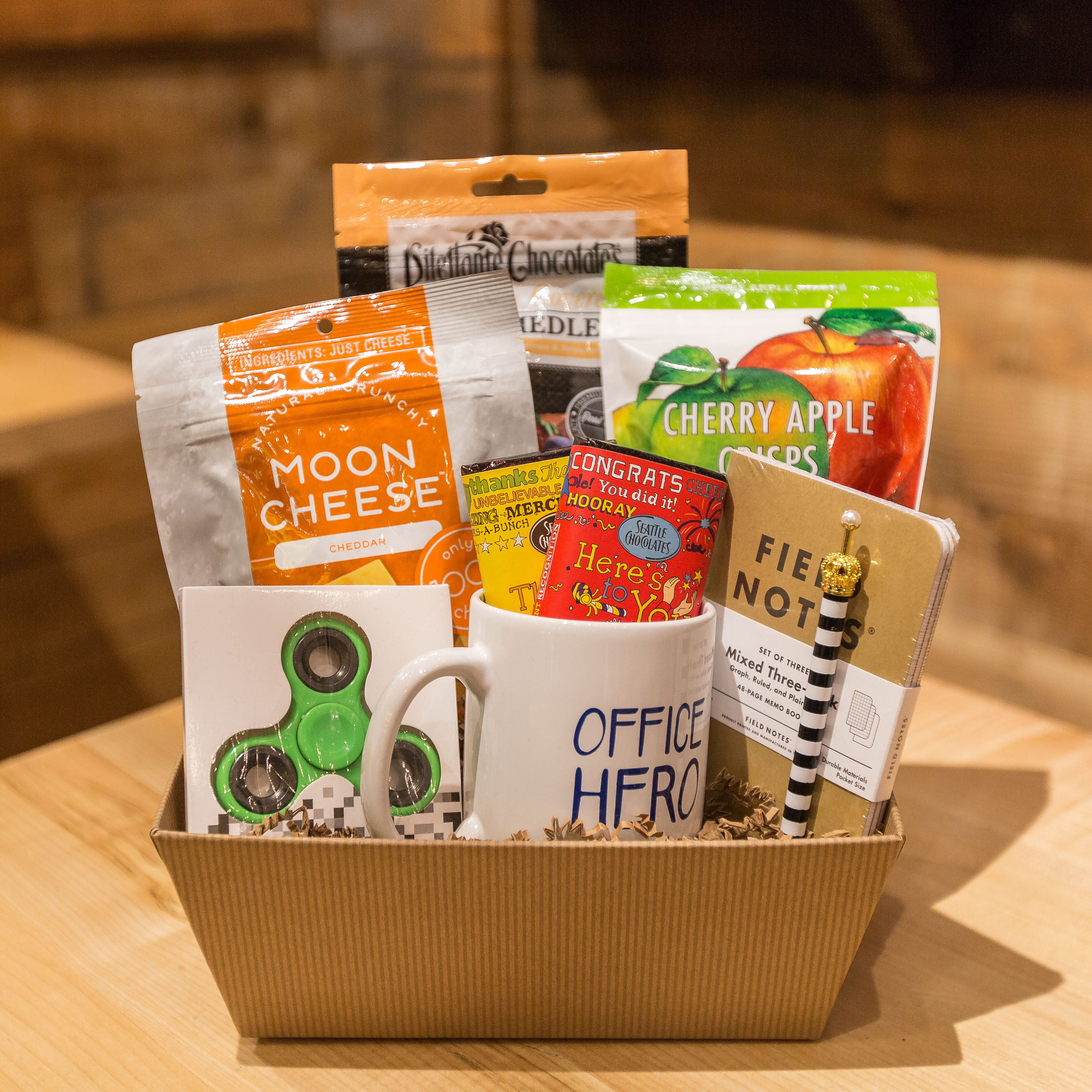 Office Hero Gift Basket