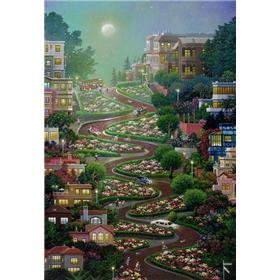 "Alexander Chen ""Moon Over Lombard"" Limited Edition"