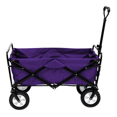 TC1012 Multipurpose Folding Utility Wagon With Adjustable Retractable Handle - P