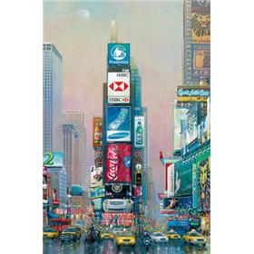 "Alexander Chen ""2 Times Square- North"" Limited Edition"