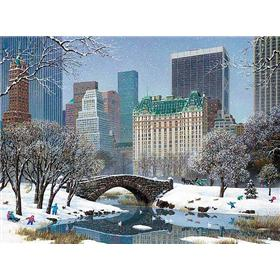 "Alexander Chen ""Central Park Winter"" Limited Edition"