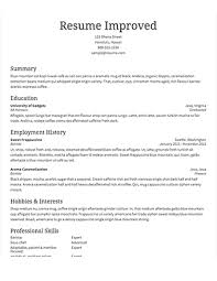 Resume and Review