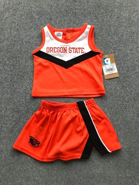 Oregon State Toddler Cheerleader outfit size 4T