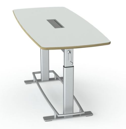Confluence 6 - Height Adjustable Whiteboard Table (showroom demo)
