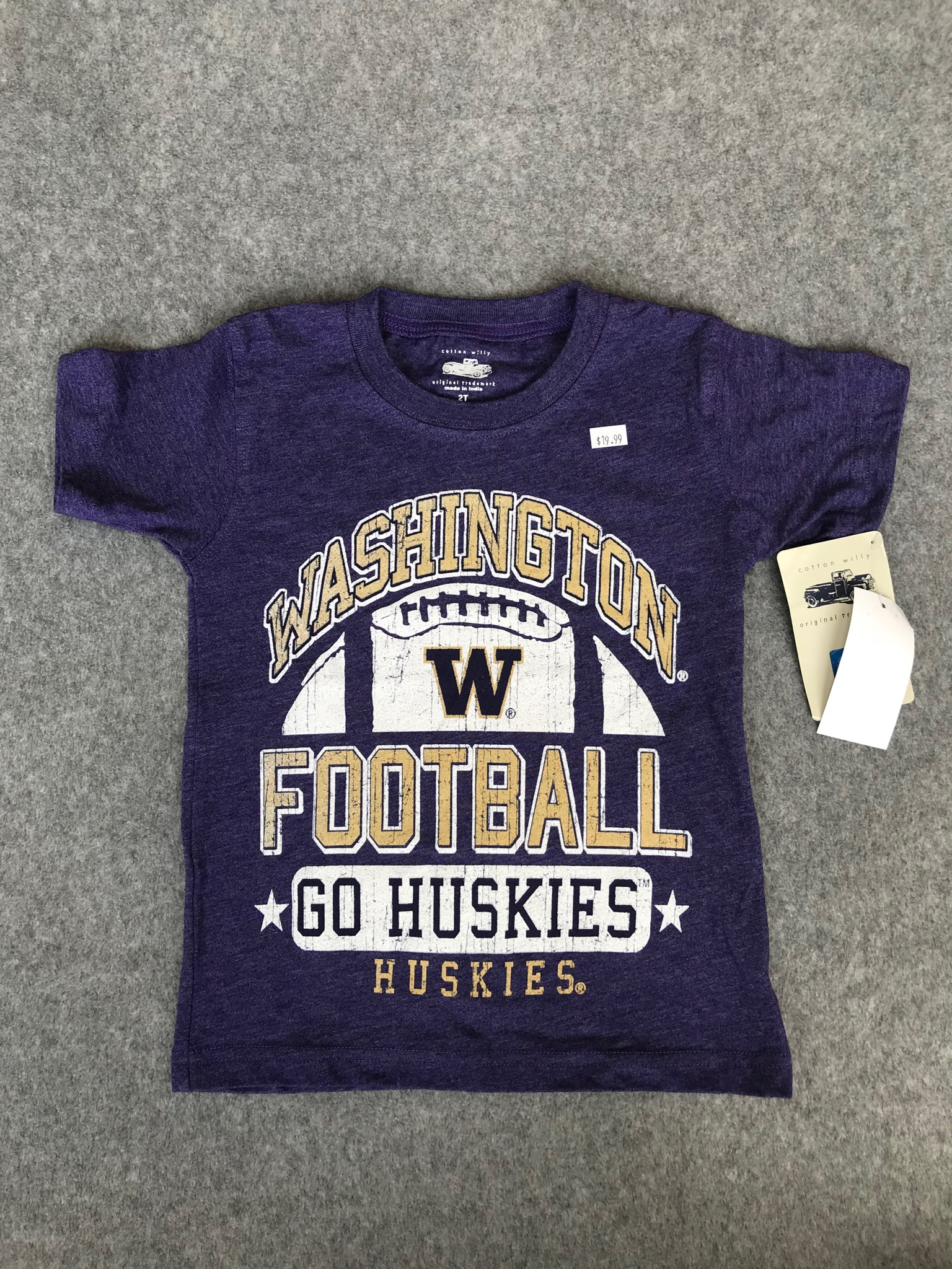 UW Toddler size 2T tee NWT