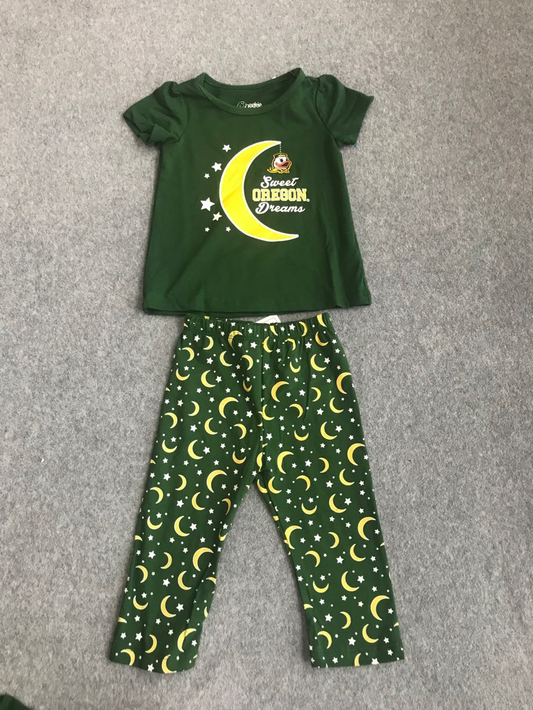Oregon Ducks baby outfit NWT size 12/18 months