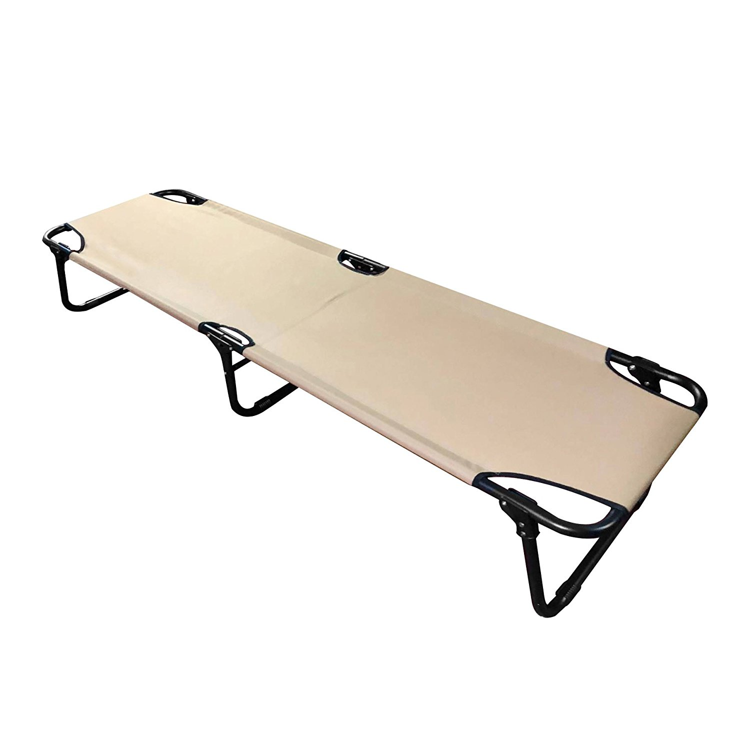 FCB-SD Fold Up Portable Camping Cot for Camping Hiking Hunting Easy Set Up Sand