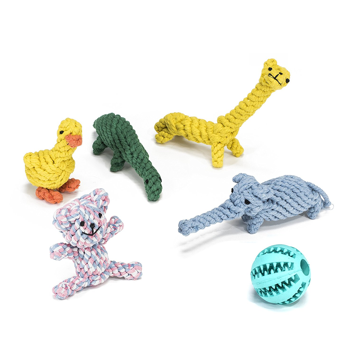 PTRB6 Dog Toy 6 Pack