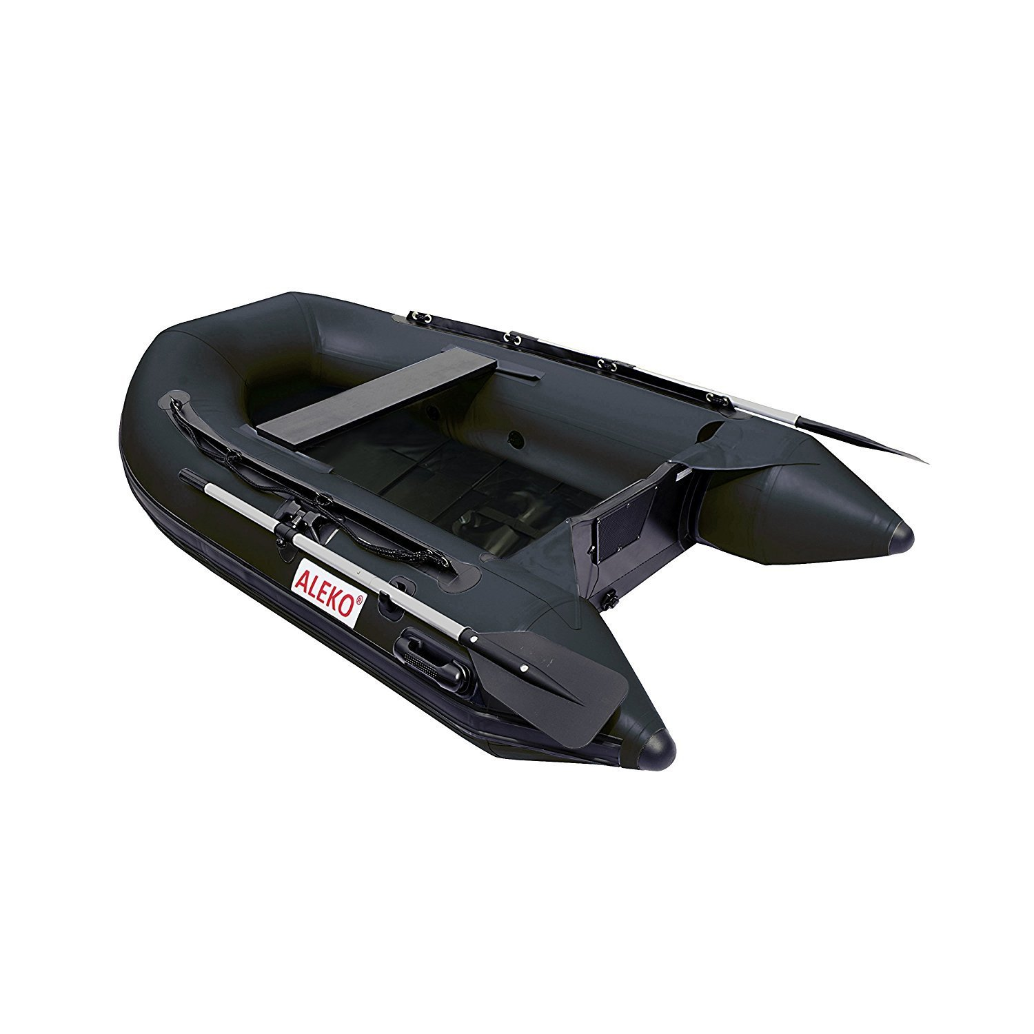 BTSDSL250BK 8.5 Foot Inflatable Boat with Pre-Installed Slide Slat
