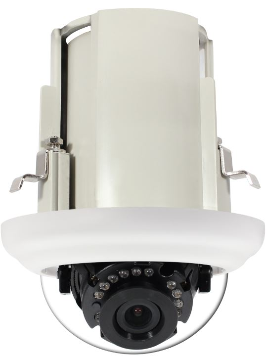 AvertX 2MP In-Ceiling IP Dome Camera with IR