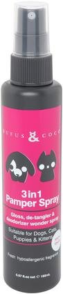 RUFUS & COCO 3 IN 1 PAMPER SPRAY 5.07OZ