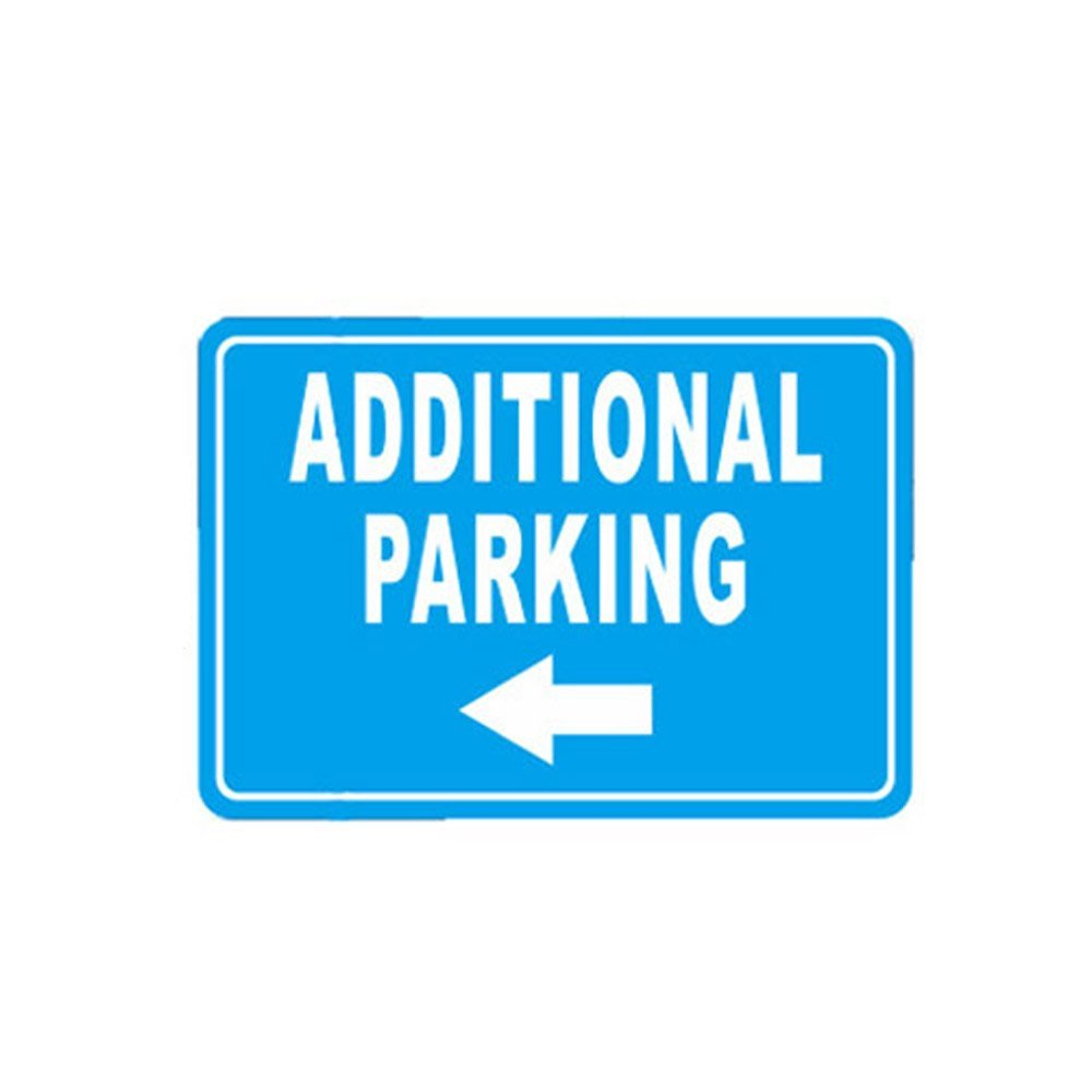 WSN13 Aluminum Additional Parking Sign 7 x 10 Inches