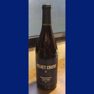 2014 Diageo California Coastal Velvet Crush Pinot Noir.
