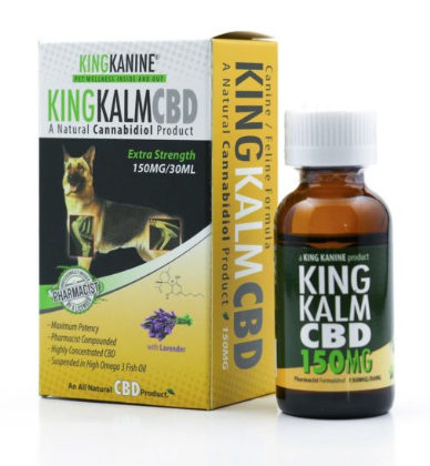 CBD Oil for Pets - KingKalm 150mg