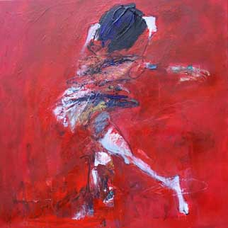"""The Pride and the Passion"" Original Dancer Painting"