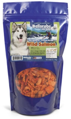 BELLYRUBS SALMON TREATS 5OZ
