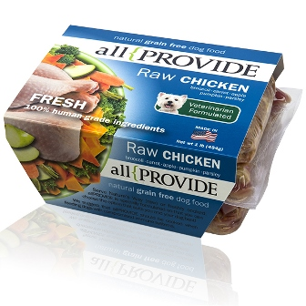 ALLPROVIDE CHICKEN RAW 2X1LB