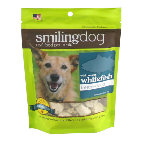 HERBSMITH DOG TREAT FREEZE DRIED WHITEFISH 1.76 OZ
