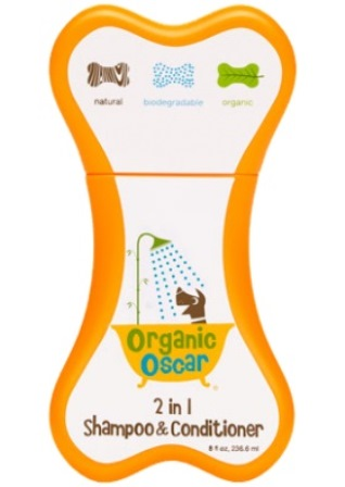 ORGANIC OSCAR 2 IN 1 SHAMP & COND 8 OZ