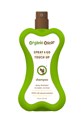 ORGANIC OSCAR SPRAY AND GO TOUCH UP SHAMPOO 6OZ