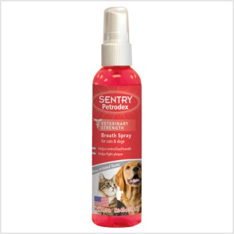 SERGEANTS PETRODEX BREATH SPRAY DOG&CAT 4 OZ